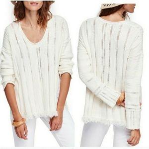Free People Ocean Drive Sweater sz XS NWT